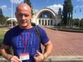 Вячеслав Узелков сбил лося и разбил свою машину