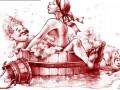 Камасутра по-украински: Художница нарисовала секс-позы в национальном стиле