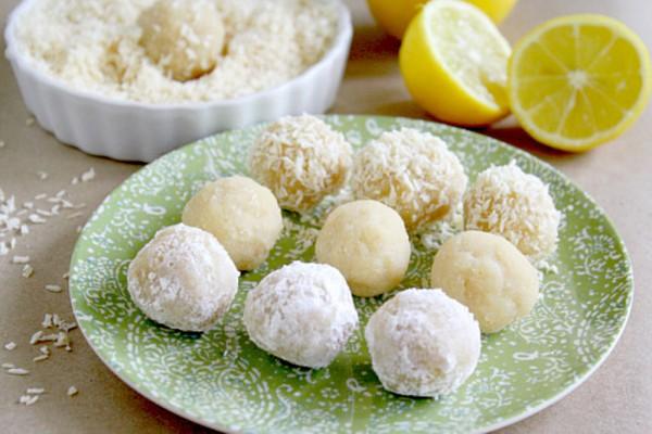 Рецепт                  Постные лимонные конфеты