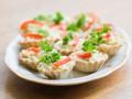 Рецепты на Новый год: Крабовые корзинки