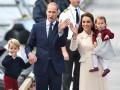 Дети Кейт Миддлтон и принца Уильяма поблагодарили канадцев за прием