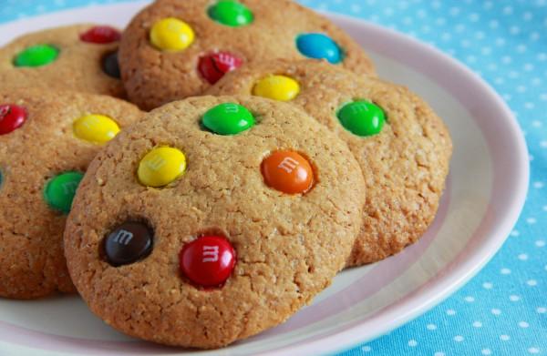 Рецепт                  Американское печенье на Хэллоуин