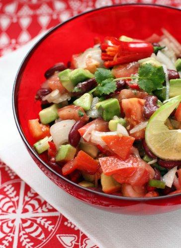 Рецепт                  Техасский новогодний салат