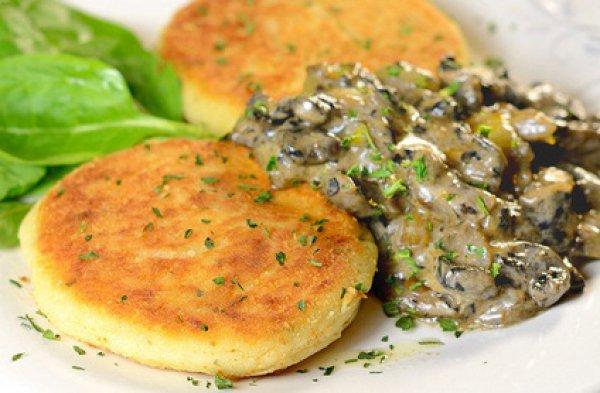 Рецепт                  Несладкие сырники из творога и картофеля
