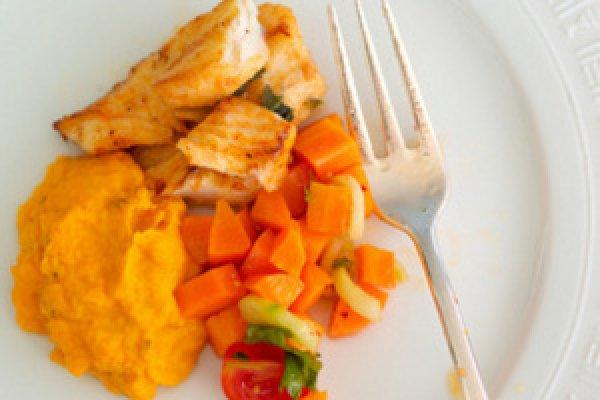 Рецепт                  Рыба в имбирном маринаде