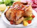 Запеченная курица в духовке с овощами