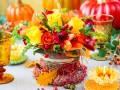 Композиции и букеты из осенних цветов: ТОП-15 идей