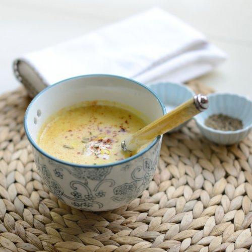 Рецепт                  Сладкий молочный суп с тыквой