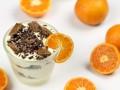 Новогодний десерт с мандаринами