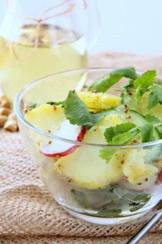 Рецепт                  Пасхальные рецепты: Картофельный салат по-весеннему