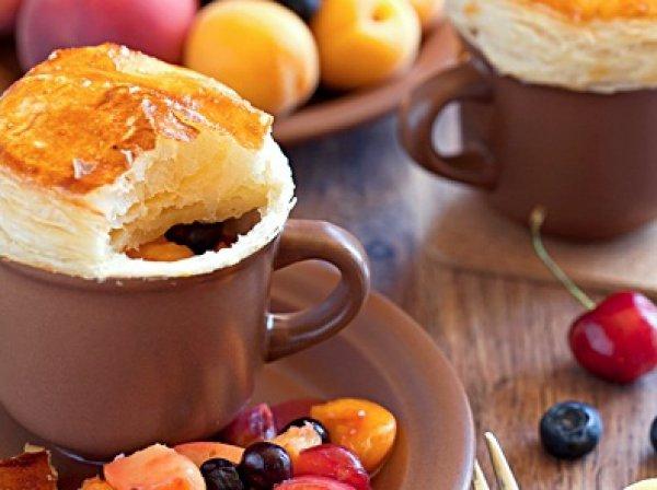 Рецепт                  Пирог в чашке