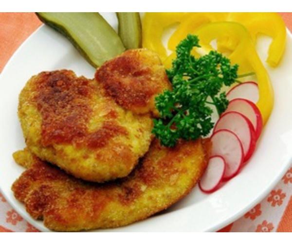 Рецепт                  Рыбные котлеты с начинкой