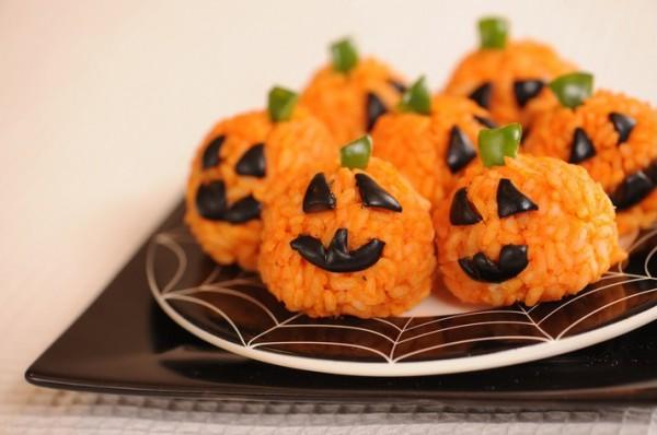 Рецепт                  Рисовые светильники Джека на Хэллоуин