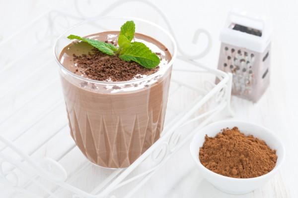 Рецепт                  Смузи с бананом и шоколадом