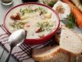Зимний суп с картофелем и свининой