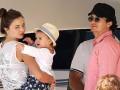 Красотка Миранда Керр отдыхает на яхте вместе с мужем и подросшим сыном