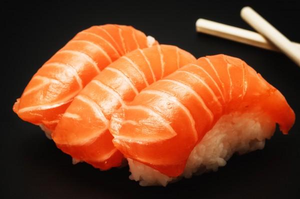 Рецепт                  Нигири-суши с лососем