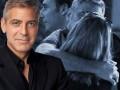 Клуни поймали в объятиях блондинки