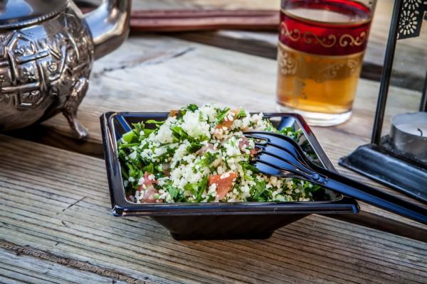 Рецепт полезного зимнего салата с кус-кусом