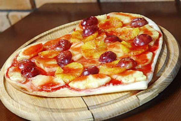 Рецепт                  Рецепты на День Валентина: Фруктовая пицца