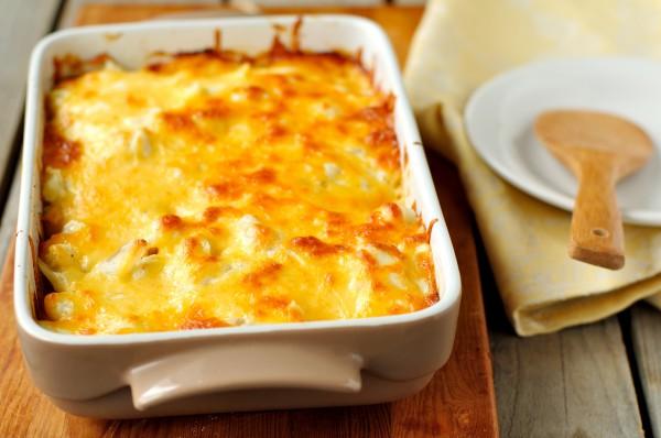 Рецепт                  Картофельная запеканка с беконом и сыром