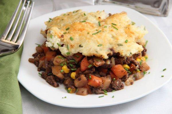 Рецепт                  Овощная запеканка с мясом