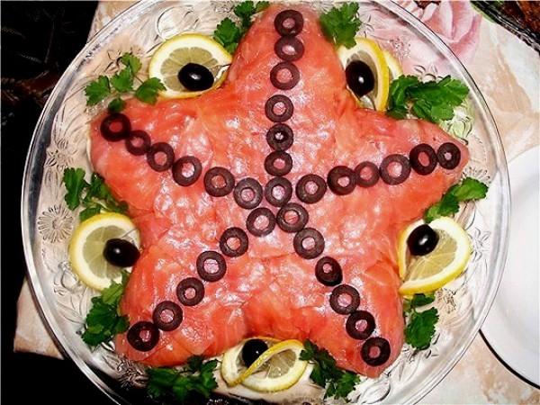 Рецепт                  Салат Морская звезда: Рецепт приготовления