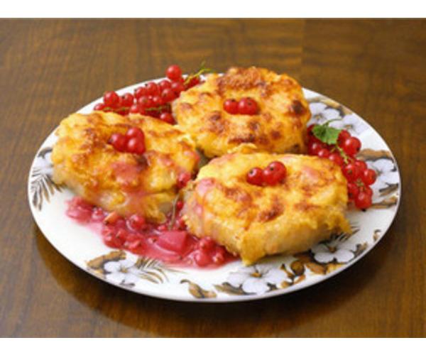 Рецепт                  Мясо с ананасами
