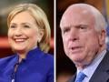 Хиллари Клинтон рассказала, как пила водку с Джоном Маккейном