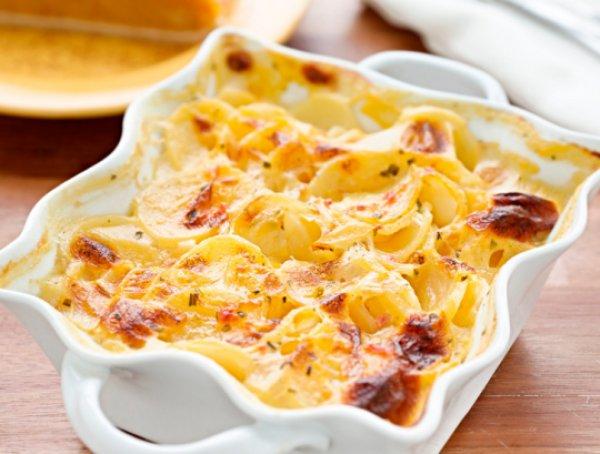 Рецепт                  Французская картофельная запеканка с печенью