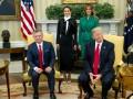 Дональд и Меланья Трамп встретились с королем Иордании и королевой Ранией