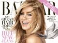 Дженнифер Энистон снялась в элегантной фотосессии для Harper's Bazaar