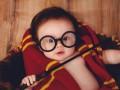 Маленькая чародейка: мама сняла дочь в образе Гарри Поттера