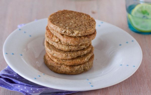 Рецепт                  Песочное печенье с грецкими орехами