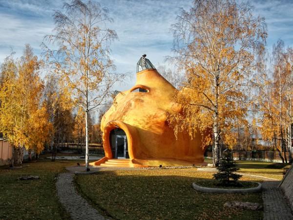 Дом-ракушка на Урале (ФОТО)