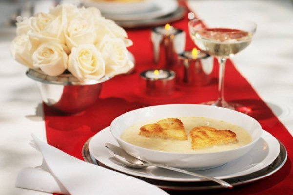Рецепт                  Меню ко Дню св. Валентина: ТОП-5 рецептов для романтического ужина