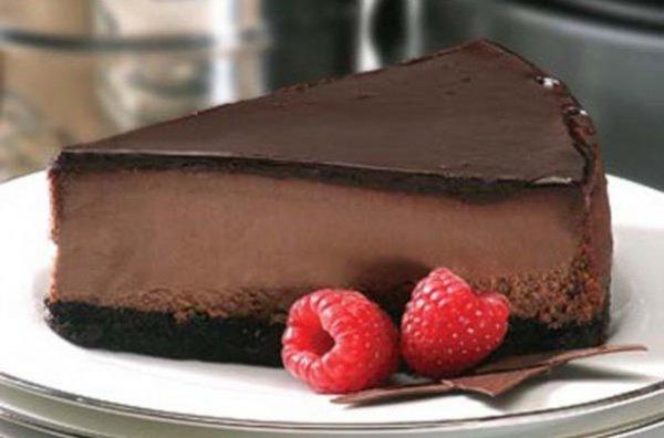 Рецепт                  Готовим шоколадный чизкейк