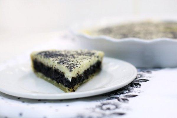 Рецепт                  Маковый пирог со сметаной