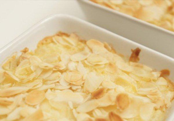 Рецепт                  Запеченная груша в миндальном пюре