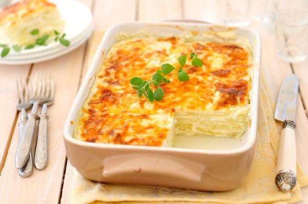 Рецепт                  Овощная лазанья из кабачков