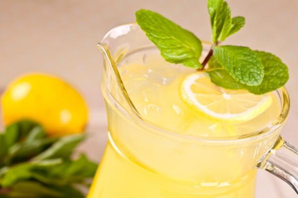 Рецепт                  Лимонад с мятой