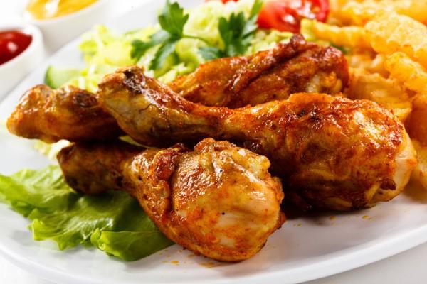 Рецепт                  Хрустящие куриные ножки