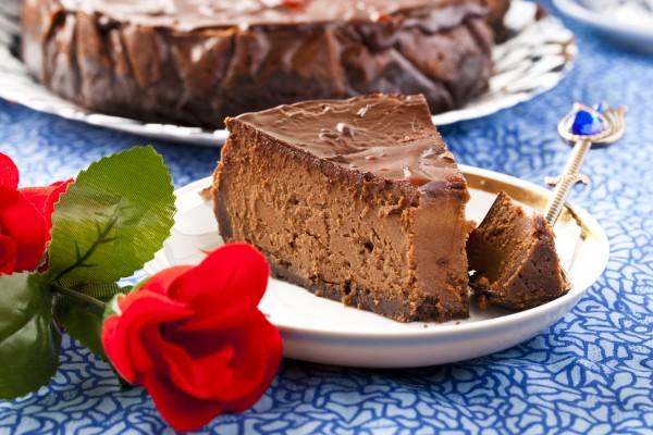 Рецепт                  Десерты на Новый год: Шоколадный чизкейк