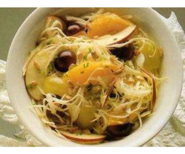 Рецепт                  Салат из капусты с апельсинами