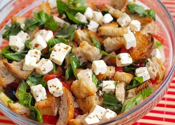 Рецепт                  Тосканский хлебный салат