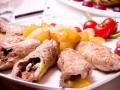 Рецепты на Рождество: Крученики с грибами и гречкой