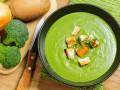Крем-суп из брокколи и картофеля