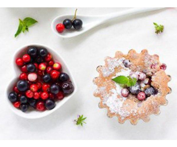 Рецепт                  Ягодно-миндальные корзиночки