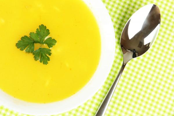Суп-пюре из тыквы для веганов