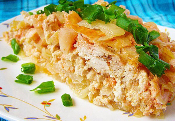 Блюда из капусты с фаршем